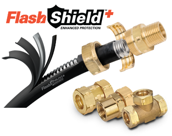 Flashshield Flexible Gas Piping And Accessories