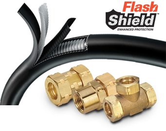 Simple hand tools such as tubing cutters wrenches and utility knives are all that are needed to work with the FlashShield components.  sc 1 st  Gastite & FlashShield Flexible Gas Piping and Accessories