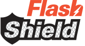 Flash Shield logo